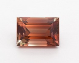 7.36ct Rootbeer Rectangle Sunstone (S2389)