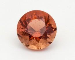 4.83ct Peach Round Sunstone (S2386)