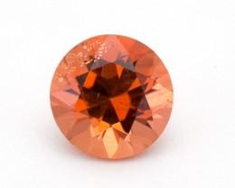 2.8ct Peach Round Sunstone (S2383)