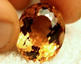 26.22 Carat Fiery VVS Golden Topaz - Gorgeous Gem