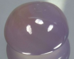 8.00 Cts Natural Purple Lavender Chalcedony Round Cabs Brazil Gem