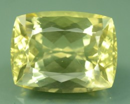 33.80 cts Huge Size Museum Grade FLAWLESS Yellow Beryl - HELIODOR Loose Gem