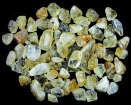 Parcel tumbled Citrine stones  BU 605