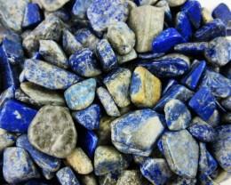 Parcel tumbled Lapis Lazuli stones  BU 609