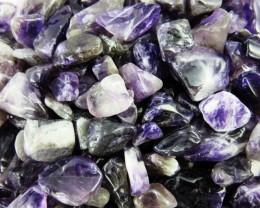Parcel tumbled Amethyst stones  BU 610