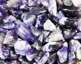 Parcel tumbled Amethyst stones  BU 611