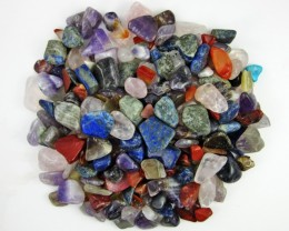 Parcel tumbled Mixed Gem stones  BU 616
