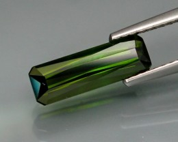 1.50 CT GREEN TOURMALINE SCISSOR CUT!