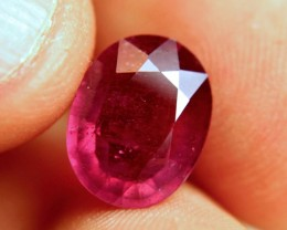 6.63 Carat Fiery Red Ruby - Superb