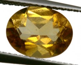 CITRINE NATURAL  FACETED HIGH CLARITY  1.6CTS ADG-645