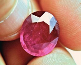 9.26 Carat Fiery Cherry Ruby - Superb