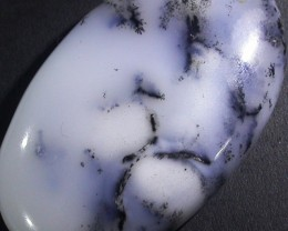 44.10 CTS  DENDRITIC AGATE STONE DRILLED TURKEY [MGW4943 ]