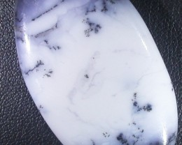 54.90 CTS  DENDRITIC AGATE STONE DRILLED TURKEY [MGW4945 ]