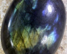 39.55 CTS FLASHY LABRADORITE- DRILLED  [MGW4779 ]