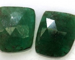 EMERALD FACETED 3.90 CTS RNG-179