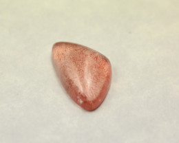 TRILLION SHAPED STRAWBERRY QUARTZ