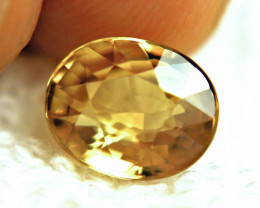 5.48 Carat Golden Yellow VVS1 Zircon - Superb