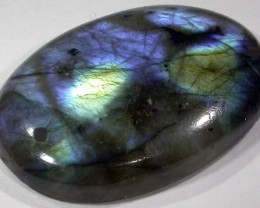 43.15 CTS FLASHY LABRADORITE-DRILLED  [MGW 4997]