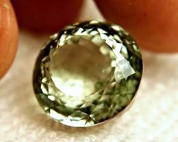 23.5 Carat VVS Green South American Prasiolite