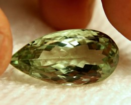 22.8 Carat VVS Brazil Prasiolite - Beautiful