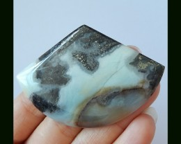 98 cts Natural Amazonite Gemstone Beautiful Cabochon