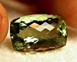 37.63 Carat VVS South American Prasiolite - Gorgeous