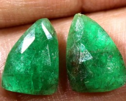 EMERALD PAIR 3.25 CTS BG-185
