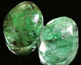 EMERALD PAIR 8.95 CTS BG-200