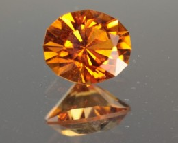 1.18 Ct Tourmaline CERTIFIED Orange -MASTER CUT!
