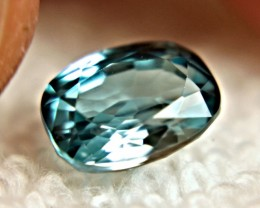 3.82 Carat VVS Blue Southeast Asian Zircon