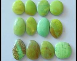 12 pcs Rare Gem Stone Gaspite Gemstone Cabochons