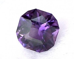 PRECISION CUT 1.95ct Attractive Deep Purple Amethyst, Uruguay, IF/ VVS