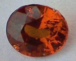 1.55ct Impressive 'Cinnomon' Color Ceylon Hessonite Garnet VVS SL27T