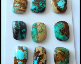 Various Turquoise Cabochons, Turquoise Slice, Natural Turquoise, Raw Loose