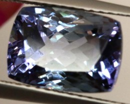 CERTIFIED TANZANITE FACETED  4.14  CTS TBM-608