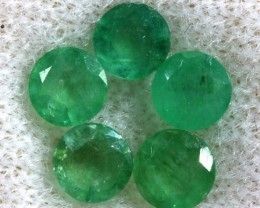 EMERALD FACETED PARCEL 1.40 CTS  PG-1716