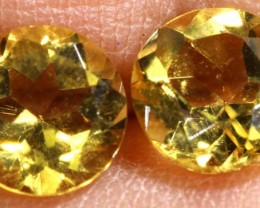 1.55 CTS CITRINE NATURAL FACETED PARCEL (2PCS) ANGC-13