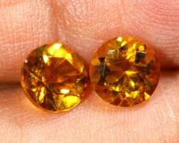 1.50 CTS CITRINE NATURAL FACETED PARCEL (2 PCS) ANGC-16