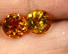 1.45 CTS CITRINE NATURAL FACETED PARCEL (2 PCS) ANGC-17