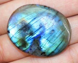 Superb Blue Flash Genuine 72.50 Cts Labradorite Gemstone