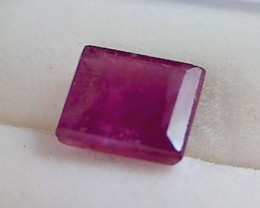 CERTIFIED 2.65ct Pretty Red- Pink Ruby, Africa DC05
