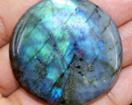 Genuine 176.50 Cts Multicolor Flash Labradorite Cab