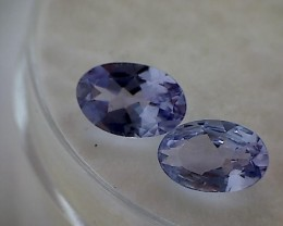 Lovely .85ct Lavender Purple Oval Tanzanite- Africa NR06