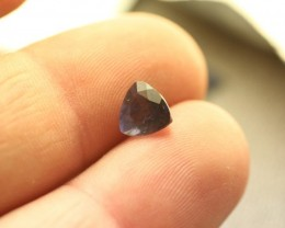 IOLITE GEMSTONE FACETED TRILLION