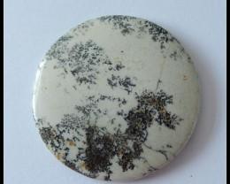 82.2 Ct Madagascar Agate Gemstone Dedritic Agate Cabochon