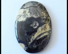 60.5 ct Natural Dendritic Agate Cabochon ,Gemstone Beads ,Wholesale