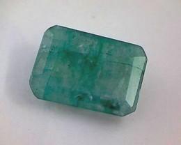 4.05ct  Medium Green Emerald , Zambia  DC12