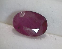 CERTIFIED 2.65ct Pretty Red Oval Cut Ruby, Africa DC14