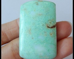 64 ct Natural Chrysoprase Gemstone Cabochon