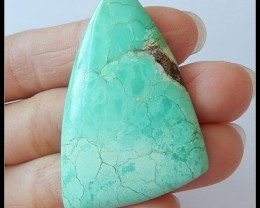 50.5 Ct Beautiful Chrysoprase Gemstone Cabcohon